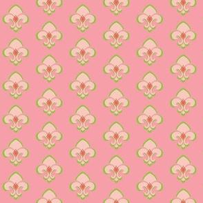 Fleur de Lis SMALL 133 -  Sorbet