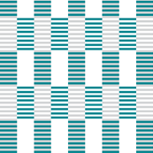 Gray and Teal Stripes