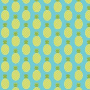 Pineapple Row -Turquoise 21