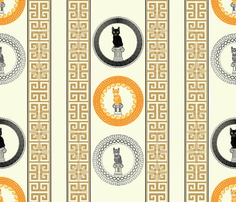 CAT-O-PILLAR fabric by hanging_by_a_string on Spoonflower - custom fabric