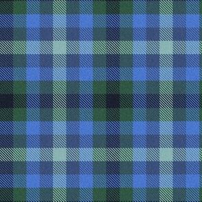 Custom Blue Green Plaid