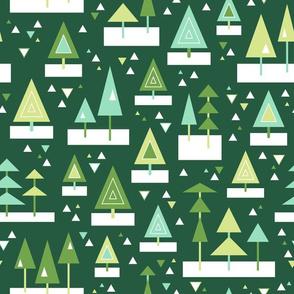 Mod Christmas Trees (Merry)