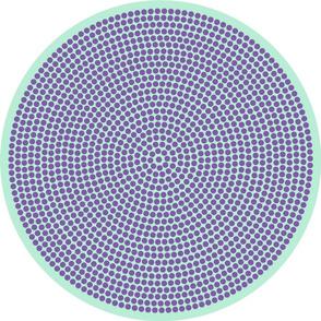 CirclesLilax2ColorMasMarcado Letters45x45
