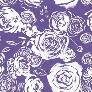 Roses on Ultra Violet