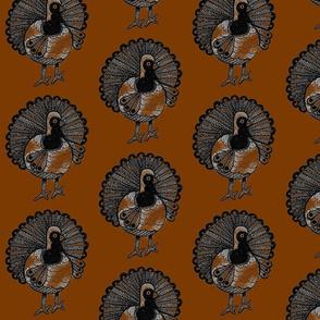 Turkey Brown Background