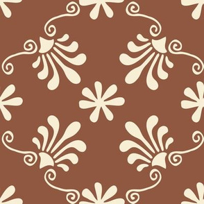 Greek Tile - Sienna