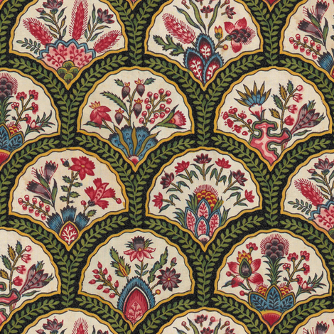 Hortense ~ Original   fabric by peacoquettedesigns on Spoonflower - custom fabric