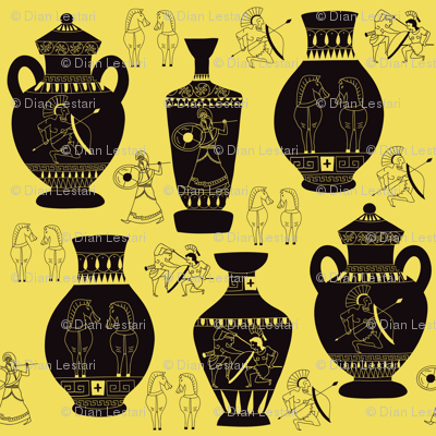 Greek Vase art