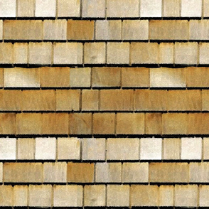 Brown Cedar Shingles