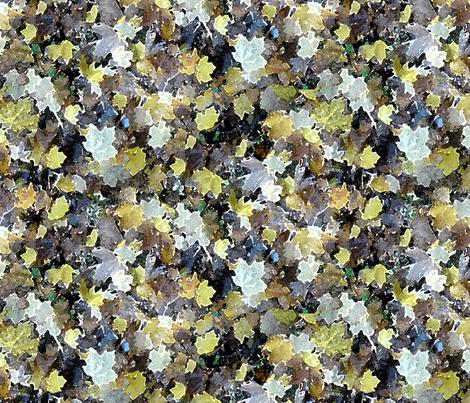 Watercolor Leaves  fabric by helen@klebesadel_com on Spoonflower - custom fabric