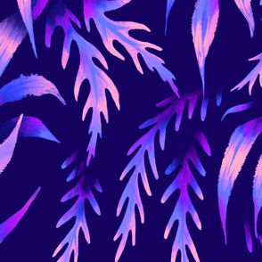 Brooklyn Forest - Purple - Large Scale