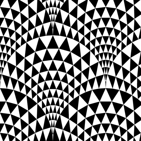 07165983 : faceted scales : contrast fabric by sef on Spoonflower - custom fabric
