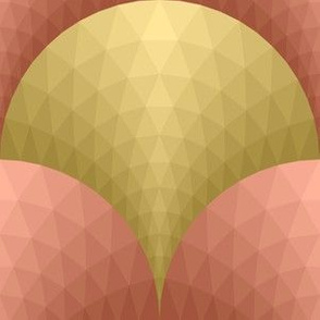 07165985 : scale triangles : gold + copper