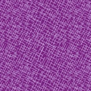 Crosshatch in Berry