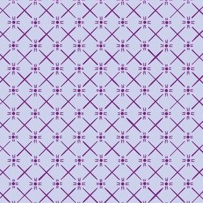 Star Weave in Berry