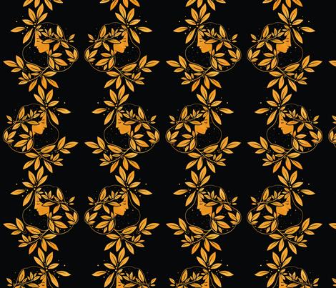 Daphne fabric by boadala on Spoonflower - custom fabric