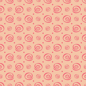 Pink Cinnamon Swirl