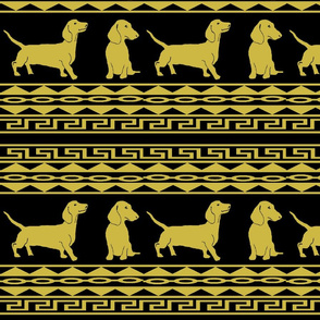 Greek Dachshunds