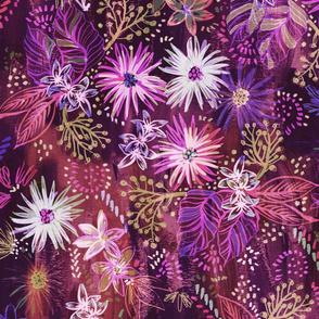 Eden Floral Purple