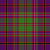 "MacIntyre or Glenorchy tartan, 6"" purple"
