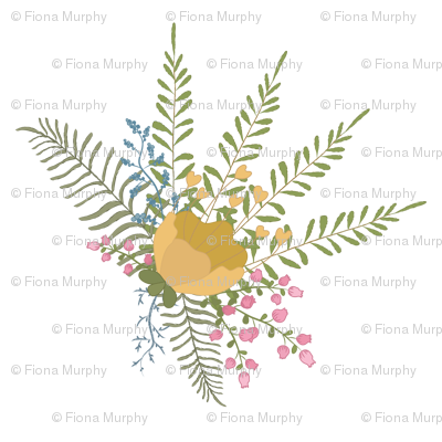 Country Floral Spray