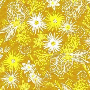 Eden Floral Yellow