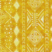 Kahala Tribal 1 Yellow