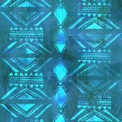 Kahala Tribal 2 Turquoise