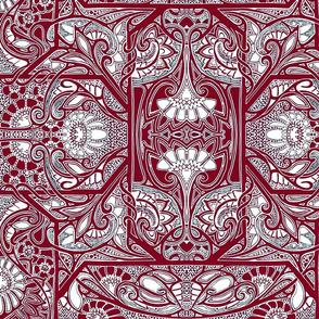 Houndstooth Tapestry Garden