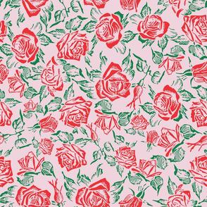 rose bed pink