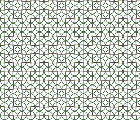 Circle Square fabric by beamingo on Spoonflower - custom fabric
