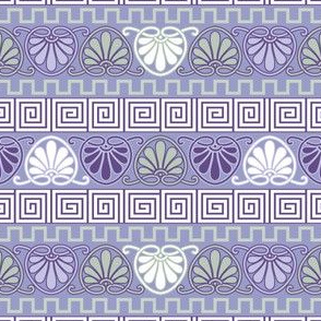 Ancient Greece Ornaments (Purple)