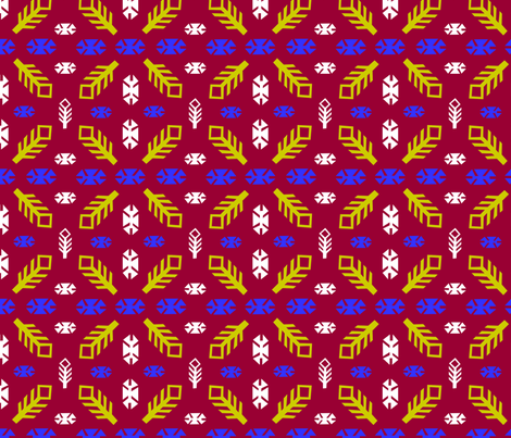 Kilim Style fabric by ladybard on Spoonflower - custom fabric