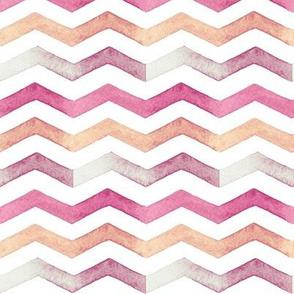 Zig-Zag Coral Stripes