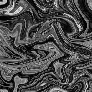 Abstract seamless  liquide background black and white mercury