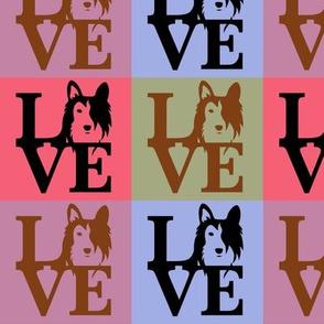 Sheltie Collie Dog Love Black Brown