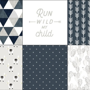 6 loveys: slate and navy triangles, run wild my child, arrow stripes 174-15, x 174-15, paddle cactus 169-1, llamas 169-1,