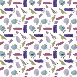 Abstract Pattern Violet || Smaller