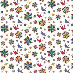 Origami Flowers & Cranes