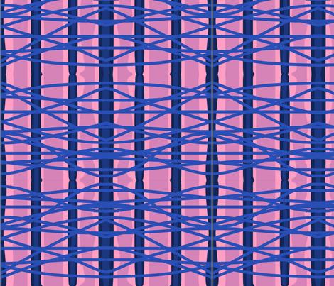 Layered lines fabric by naomifox27 on Spoonflower - custom fabric