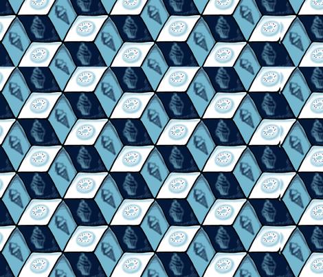 Sugar Blues fabric by grrr8dgz on Spoonflower - custom fabric