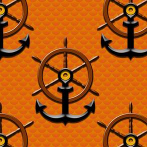 ahoy matey orange