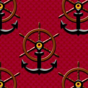 ahoy matey red