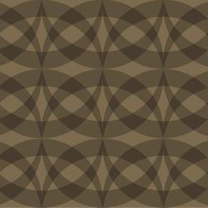 Shaded Circles Tan