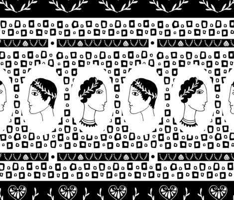 Greek Wedding fabric by mariamsol on Spoonflower - custom fabric