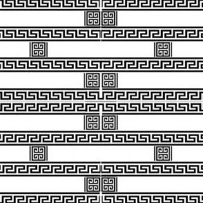 grecian key brick