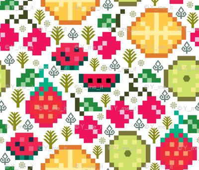 fruits - Pixilart