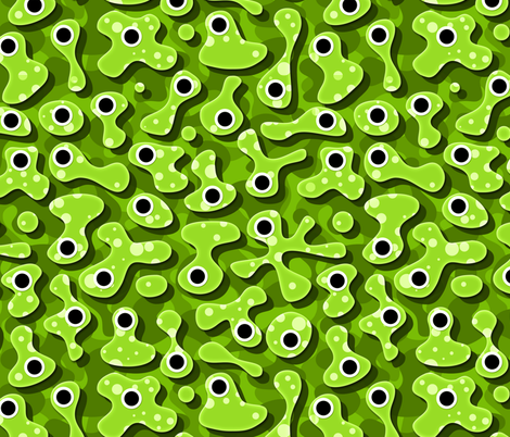 Slime fabric by spellstone on Spoonflower - custom fabric