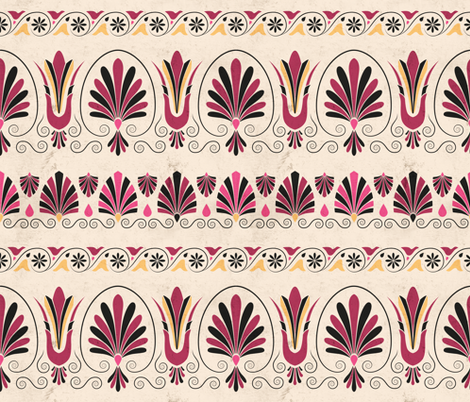 GreekRuby fabric by kasumi_design on Spoonflower - custom fabric