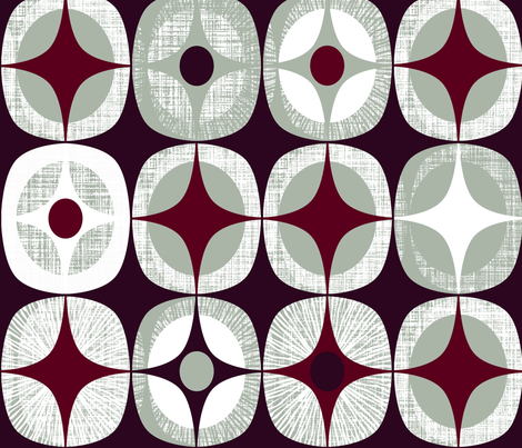 Starlight fabric by spellstone on Spoonflower - custom fabric